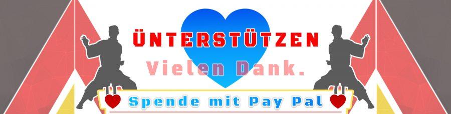 Banner Pfojekt Unterstützen - Helfen